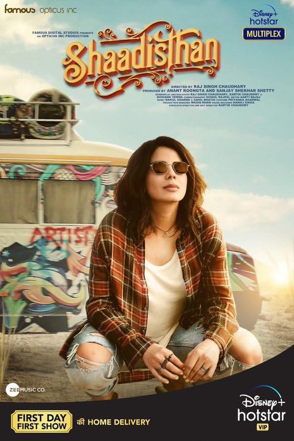 Shaadisthan 2021 Hindi Movie 480p DSNP HDRip ESub 300MB Download