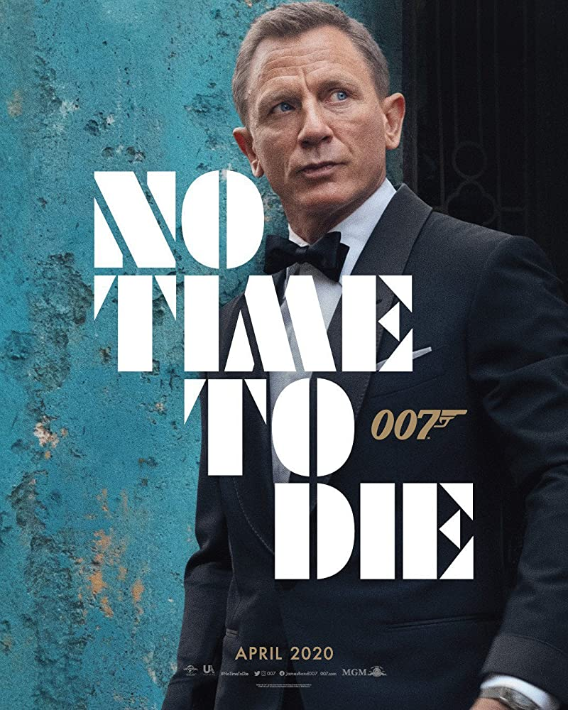 Daniel Craig in Official Title Reveal of Bond 25 (2019)