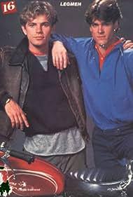 Bruce Greenwood and John Terlesky in Legmen (1984)