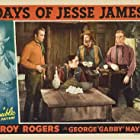 Roy Rogers, Don 'Red' Barry, George 'Gabby' Hayes, and Harry Worth in Days of Jesse James (1939)
