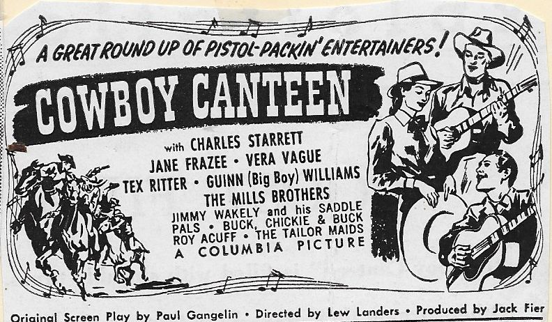 Jimmy Wakely and His Saddle Pals in Cowboy Canteen (1944)