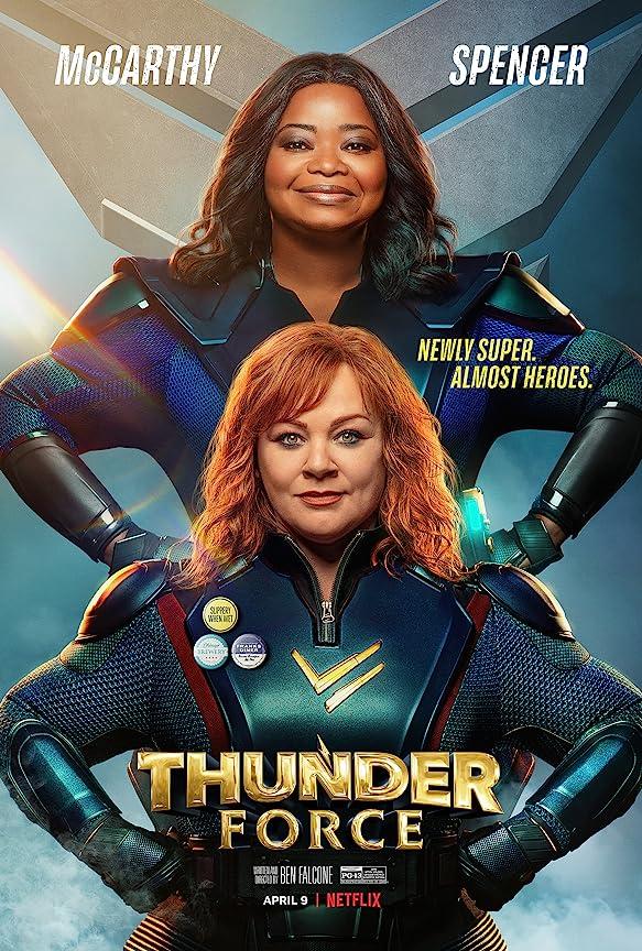 Thunder Force (2021) Multi Audio NF WEB-DL x264 AAC Esub