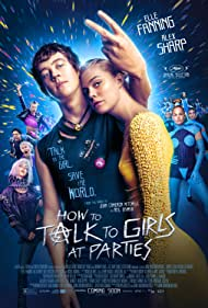 Nicole Kidman, Elle Fanning, Ruth Wilson, and Alex Sharp in How to Talk to Girls at Parties (2017)