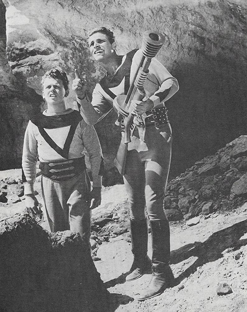 Buster Crabbe and Jackie Moran in Buck Rogers (1939)