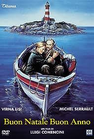 Virna Lisi and Michel Serrault in Buon Natale... Buon anno (1989)