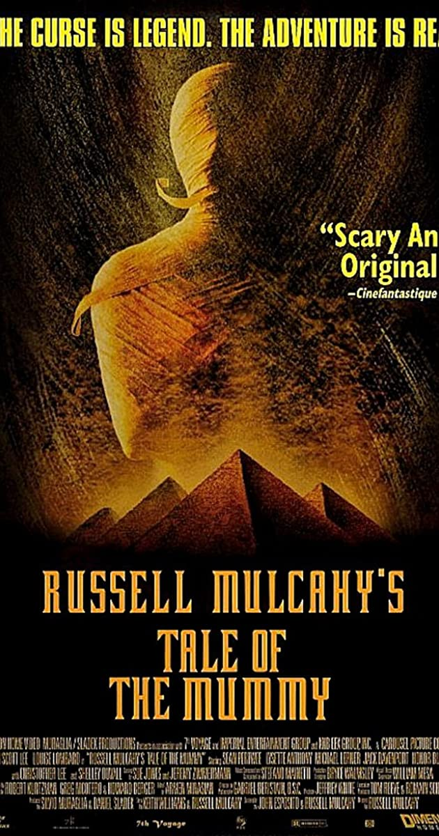 Tale Of The Mummy 1998 Imdb This includes using previously collected information about your interests to select ads, processing data about what advertisements were shown, how often they were shown, when and where they were shown, and whether you took any action related to the advertisement, including for example clicking. tale of the mummy 1998 imdb
