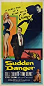 Sudden Danger (1955) Poster
