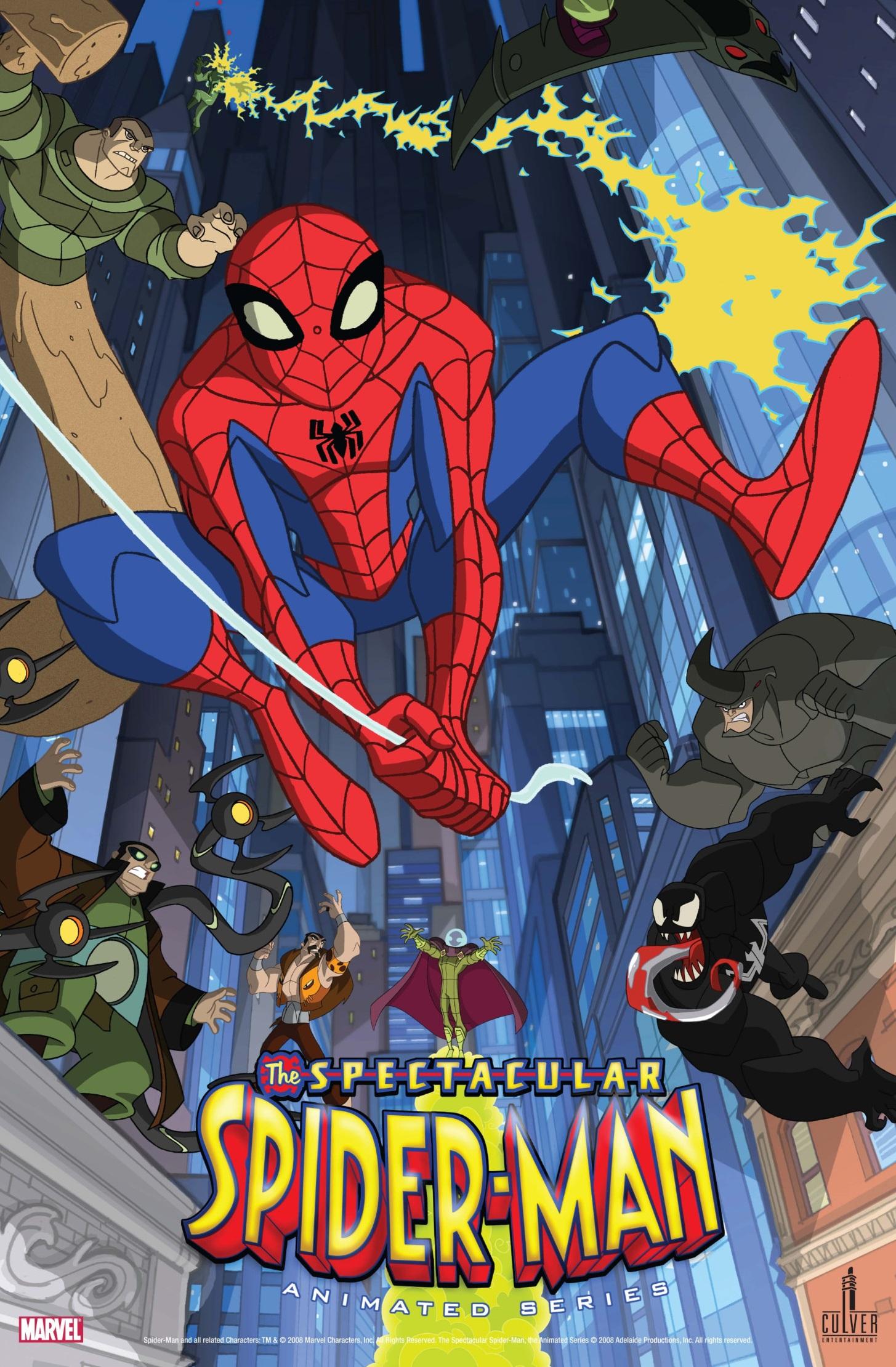 The Spectacular Spider Man Tv Series 2008 2009 Imdb