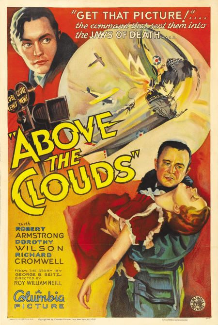 Robert Armstrong, Richard Cromwell, and Dorothy Wilson in Above the Clouds (1933)