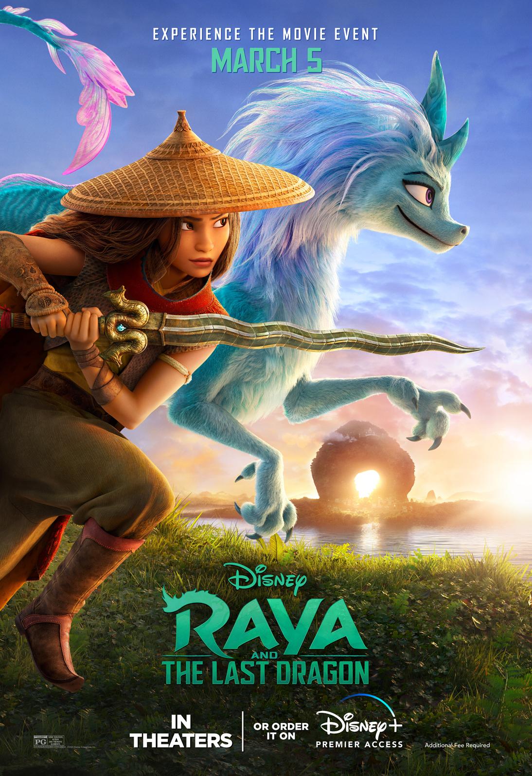 Raya and the Last Dragon 2021 Hindi ORG Dual Audio 650MB BluRay 720p HEVC x265 Download
