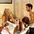 Piper Perabo, Manolo Cardona, Luis Guzmán, and Eddie 'Piolin' Sotelo in Beverly Hills Chihuahua (2008)