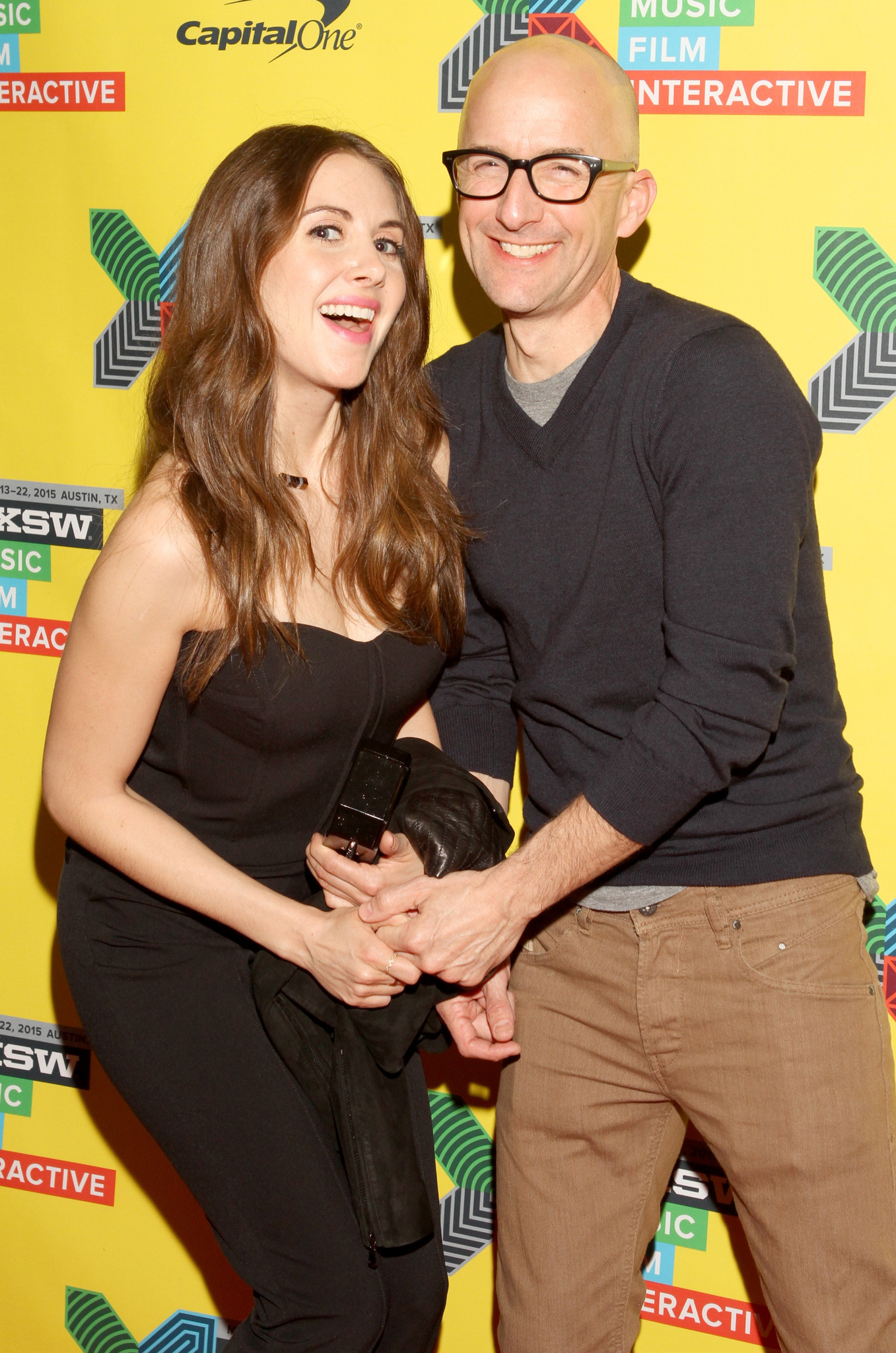 Jim Rash and Alison Brie at an event for Community (2009)