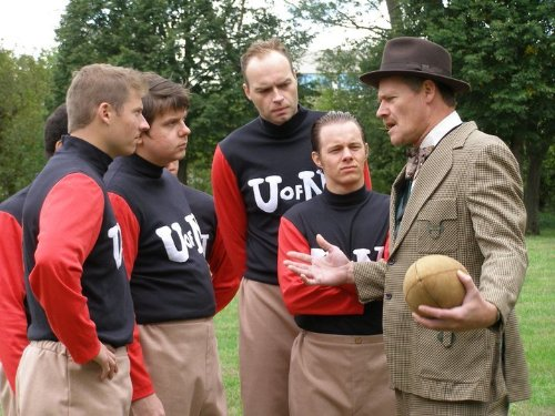 Bruce Gregory, Bryan McClure, Shaun Vetick, Drew Alley, and Demian Ryder in Bugeaters (2011)