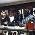 Funk Brothers Jack Ashford, Pistol Allen, Joe Hunter and Eddie Willis with Joan Osborne.