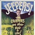 Bela Lugosi, Lon Chaney Jr., Bud Abbott, Lou Costello, and Glenn Strange in Bud Abbott Lou Costello Meet Frankenstein (1948)