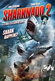 Judd Hirsch and Ian Ziering in Sharknado 2: The Second One (2014)