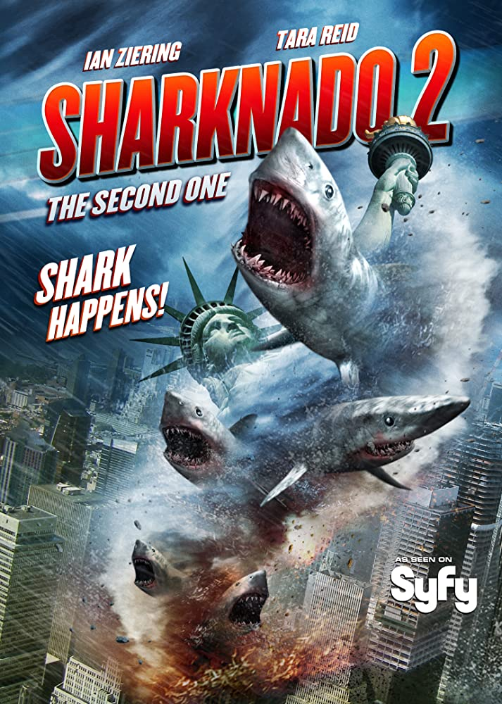 Sharknado 2: The Second One (2014) ฝูงฉลามทอร์นาโด 2
