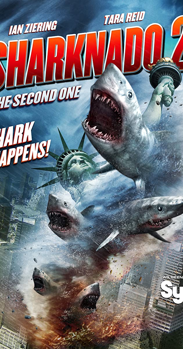 Subtitle of Sharknado 2: The Second One