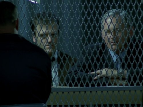 Victor Garber and Kevin Weisman in Alias (2001)