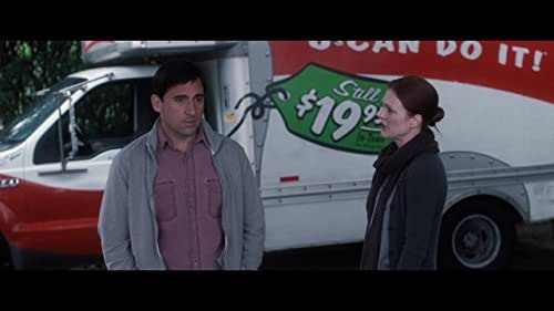 Newly single Cal Weaver (Steve Carell) is taken on as wingman and protégé to handsome, thirtysomething player Jacob Palmer (Ryan Gosling).  Despite a makeover and many new conquests, the one thing that can't be made over is his love for his wife (Julianne), who cheated on him and thinks she wants a divorce.