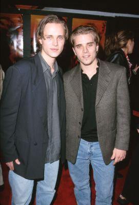 Jonathan Jackson and Richard Lee Jackson at an event for The Beach (2000)