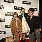 """Little Dead Rotting Hood"" Premiere. (L-R) Jake Getman, Isabella Alvarez, Patrick Muldoon"