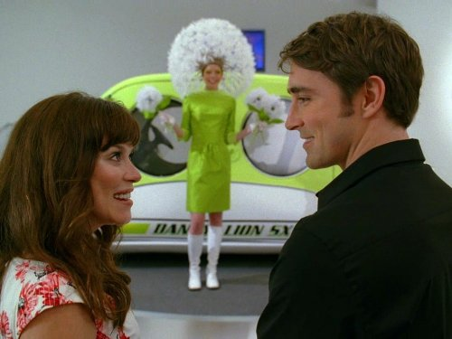 Anna Friel, Lee Pace, and Riki Lindhome in Pushing Daisies (2007)
