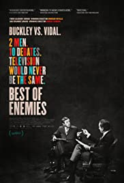 Best of Enemies: Buckley vs. Vidal Poster