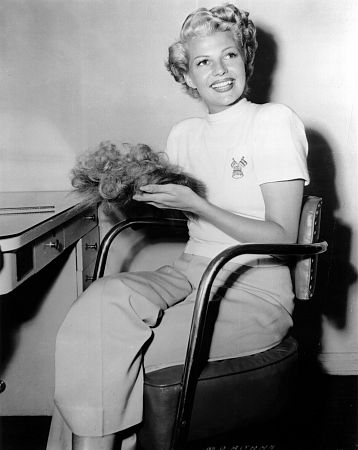 """""""Lady From Shanghai, The"""" Rita Hayworth during filming 1948 Columbia / **I.V."""