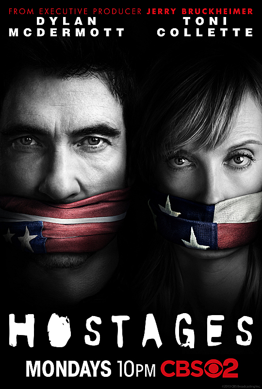 Toni Collette and Dylan McDermott in Hostages (2013)