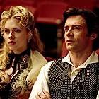 Hugh Jackman and Scarlett Johansson in The Prestige (2006)