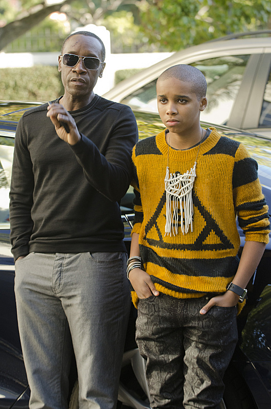 Don Cheadle and Donis Leonard Jr. in Wonders of the World (2013)