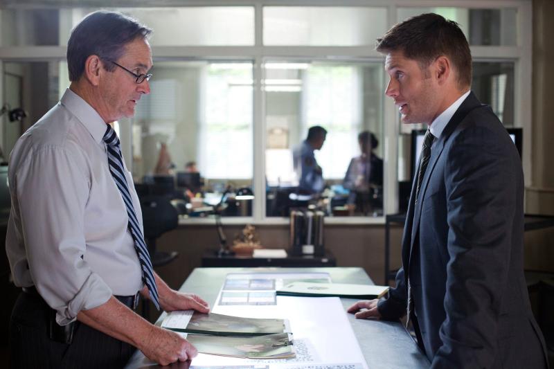 Alan Ackles and Jensen Ackles in Supernatural (2005)