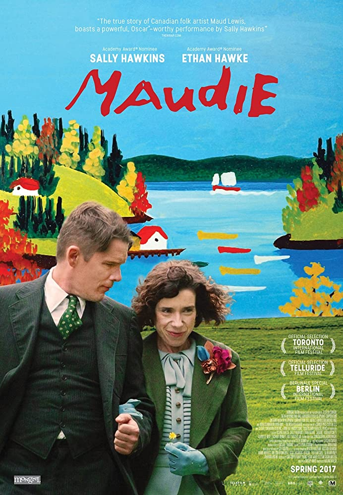 Ethan Hawke and Sally Hawkins in Maudie (2016)