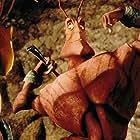 Jennifer Lopez and Sylvester Stallone in Antz (1998)
