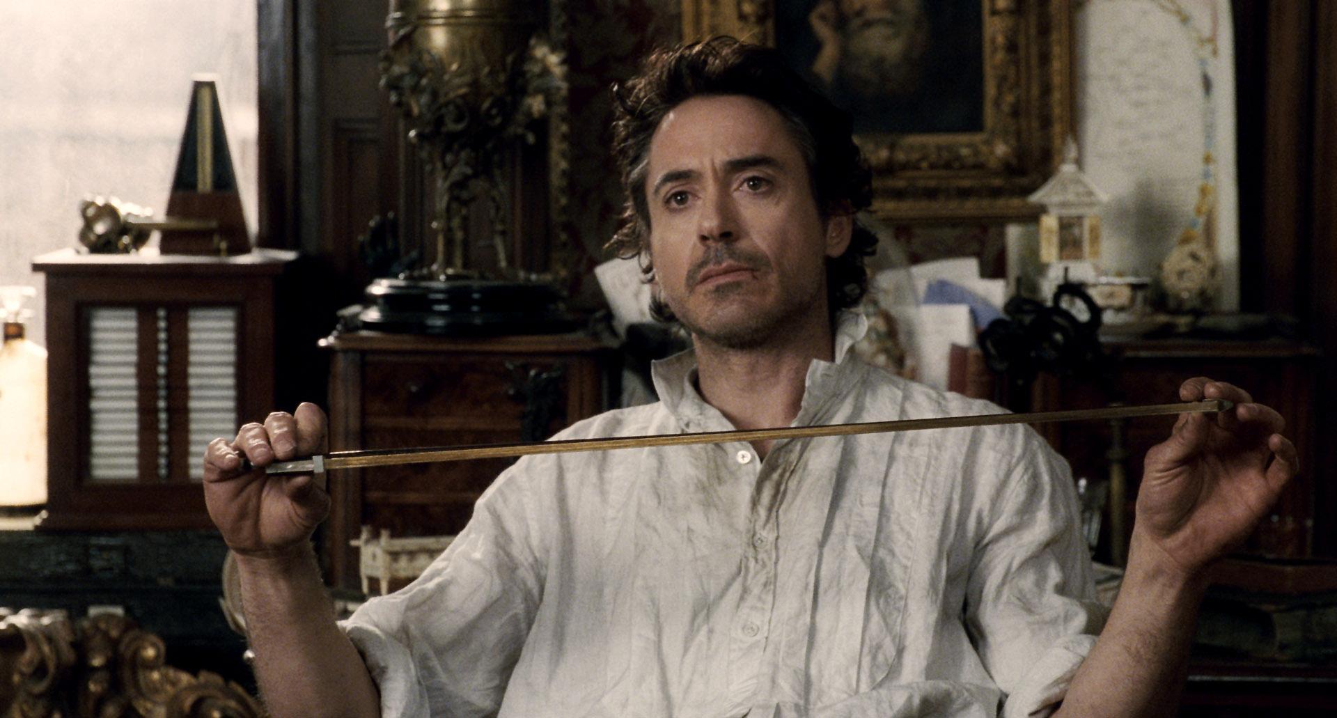 Robert Downey Jr. in Sherlock Holmes (2009)