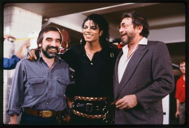 Martin Scorsese, Michael Jackson, and Walter Yetnikoff in Bad 25 (2012)