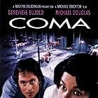 Michael Douglas and Geneviève Bujold in Coma (1978)