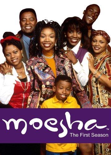 Brandy Norwood, Sheryl Lee Ralph, Lamont Bentley, Marcus T. Paulk, Countess Vaughn, Yvette Wilson, and William Allen Young in Moesha (1996)