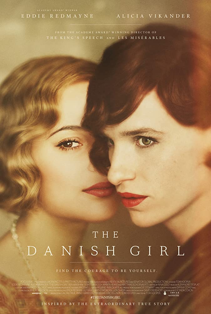 Eddie Redmayne and Alicia Vikander in The Danish Girl (2015)
