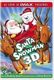 Santa vs. the Snowman 3D Poster
