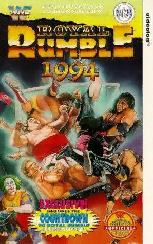 Yokozuna, Matt Osborne, Mark Calaway, Scott Hall, Bret Hart, and Larry Pfohl in Royal Rumble (1994)