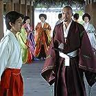 Ken Watanabe and Shichinosuke Nakamura in The Last Samurai (2003)