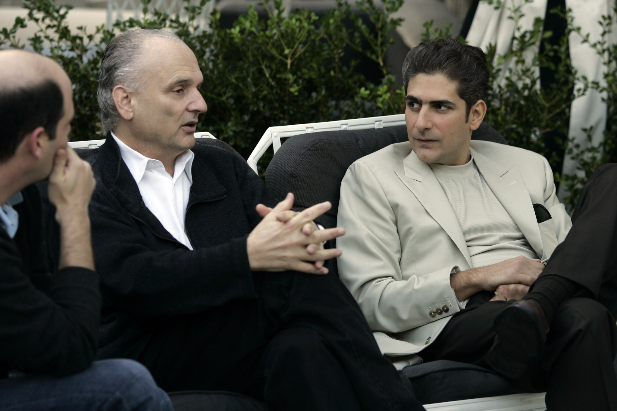 David Chase and Michael Imperioli in The Sopranos (1999)