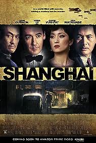 Gong Li, John Cusack, Chow Yun-Fat, and Ken Watanabe in Shanghai (2010)