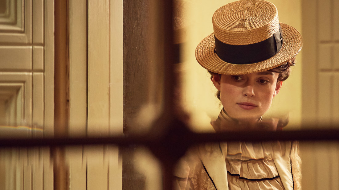 Keira Knightley in Colette movie review (2018)