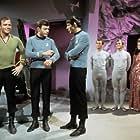 """Star Trek"" William Shatner, DeForest Kelley, Leonard Nimoy 1967 Paramount Pictures"