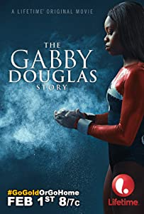 Watching that movie The Gabby Douglas Story by [pixels]
