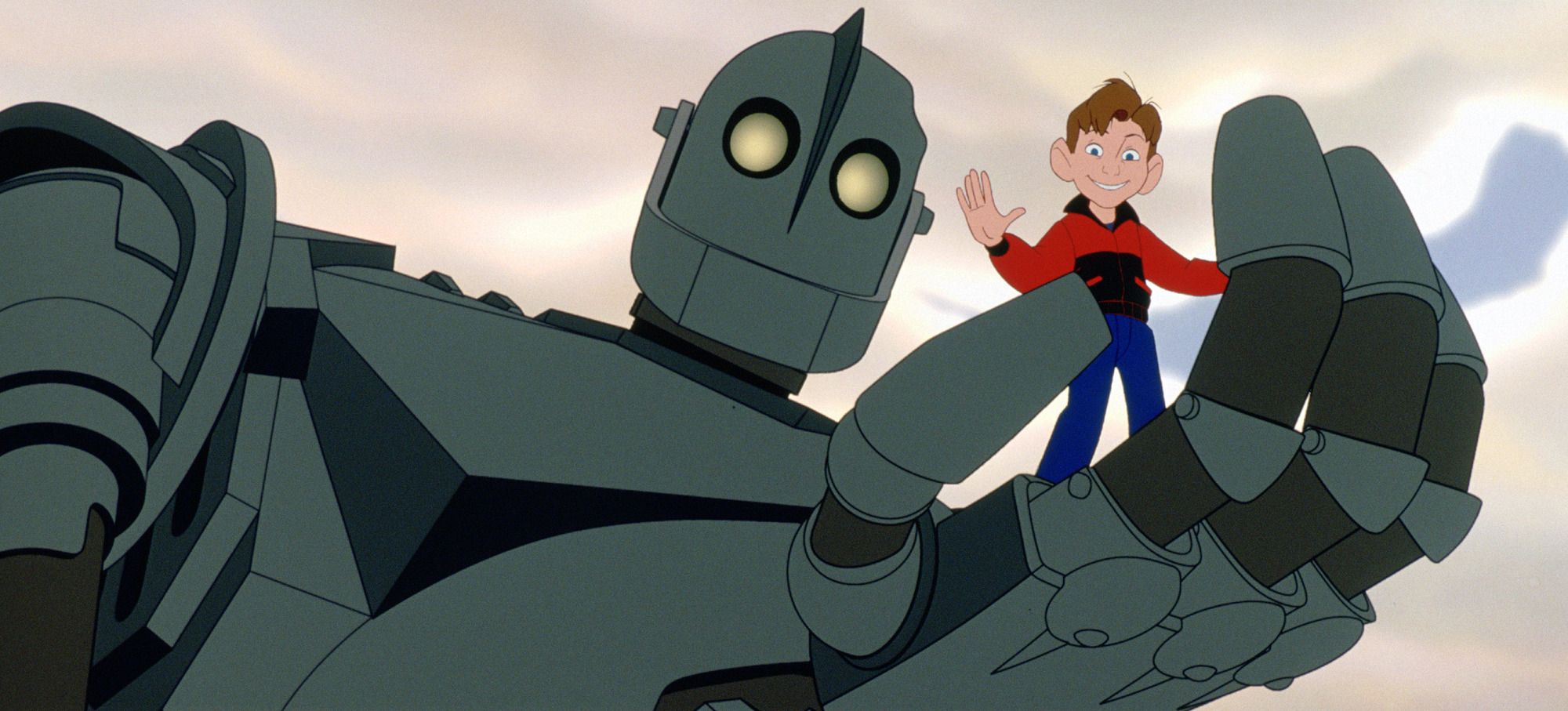 Vin Diesel and Eli Marienthal in The Iron Giant (1999)