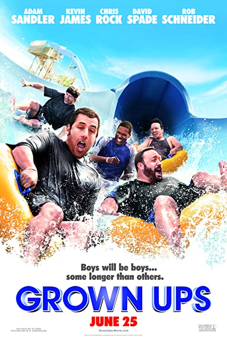 [PG-13] Grown Ups (2010) Dual Audio Blu-Ray - 480P | 720P - x264 - 300MB | 800MB - Download & Watch Online  Movie Poster - mlsbd